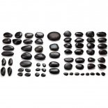 Profi-Komplett-Set mit 66 Hot Stones von MASSAGE-EXPERT