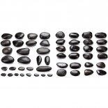 Profi-Set mit 52 Hot Stones von MASSAGE-EXPERT