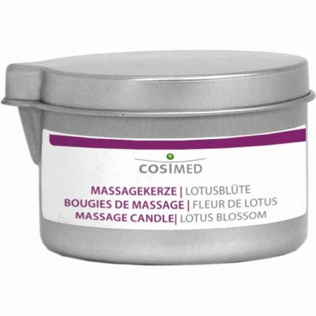 Massagekerze Lotusblüte von cosiMed