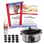 Hot Stone Profi-Set von MASSAGE-EXPERT